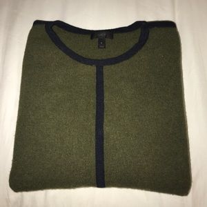 Dark Green J. Crew Sweater